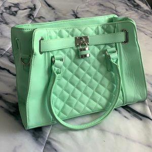 Adorable mint purse 👜